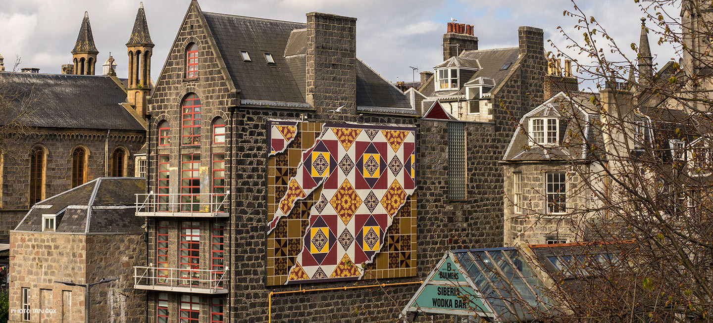 "Nuart Aberdeen legacy continued through ""TWIN CITY BILLBOARD PROJECT"""