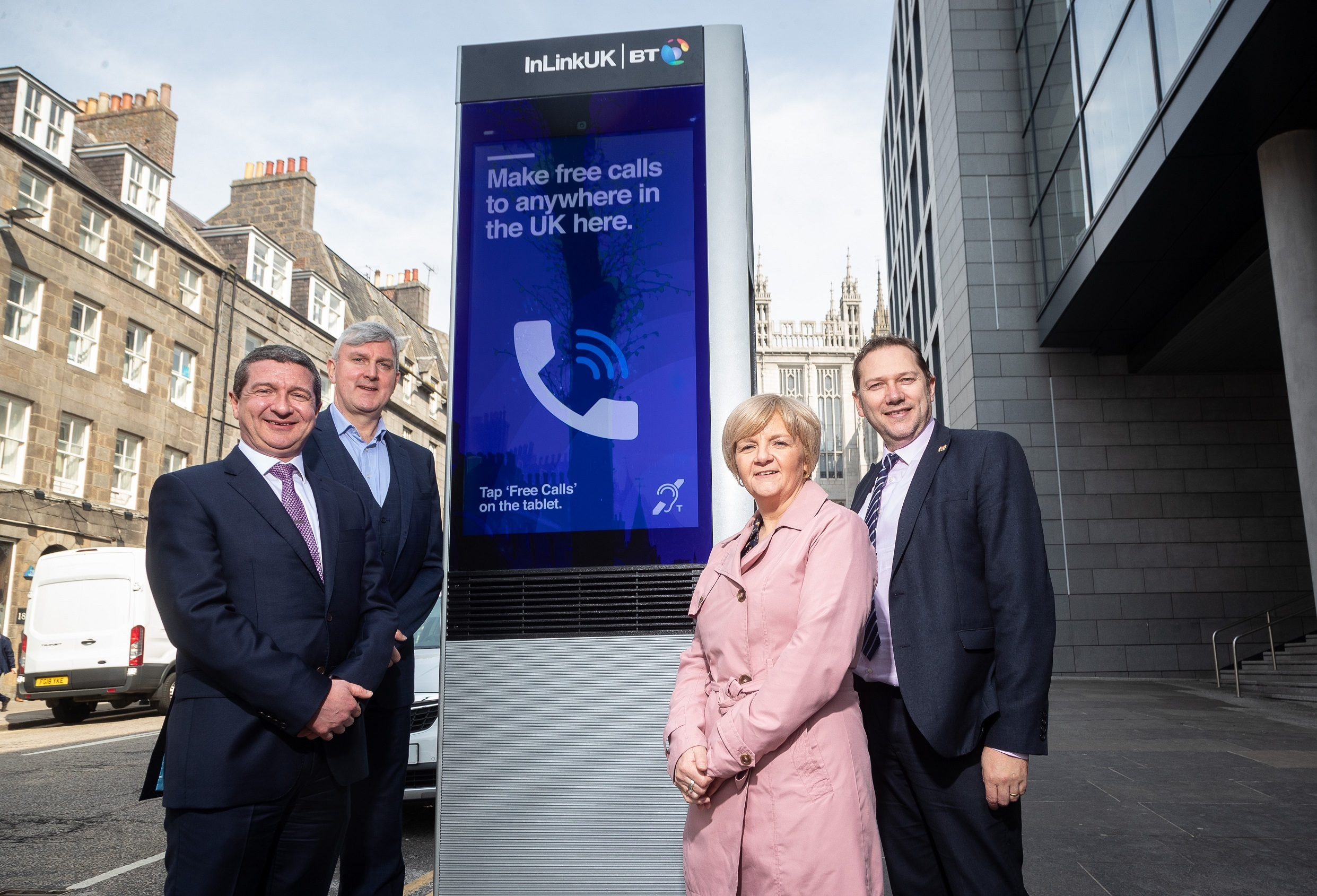 BT press release: Aberdeen to benefit from free ultrafast wi-fi and phone calls