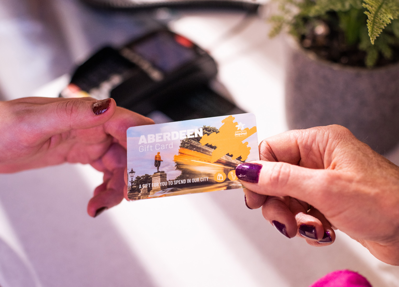 Mum's the word for the Aberdeen Gift Card