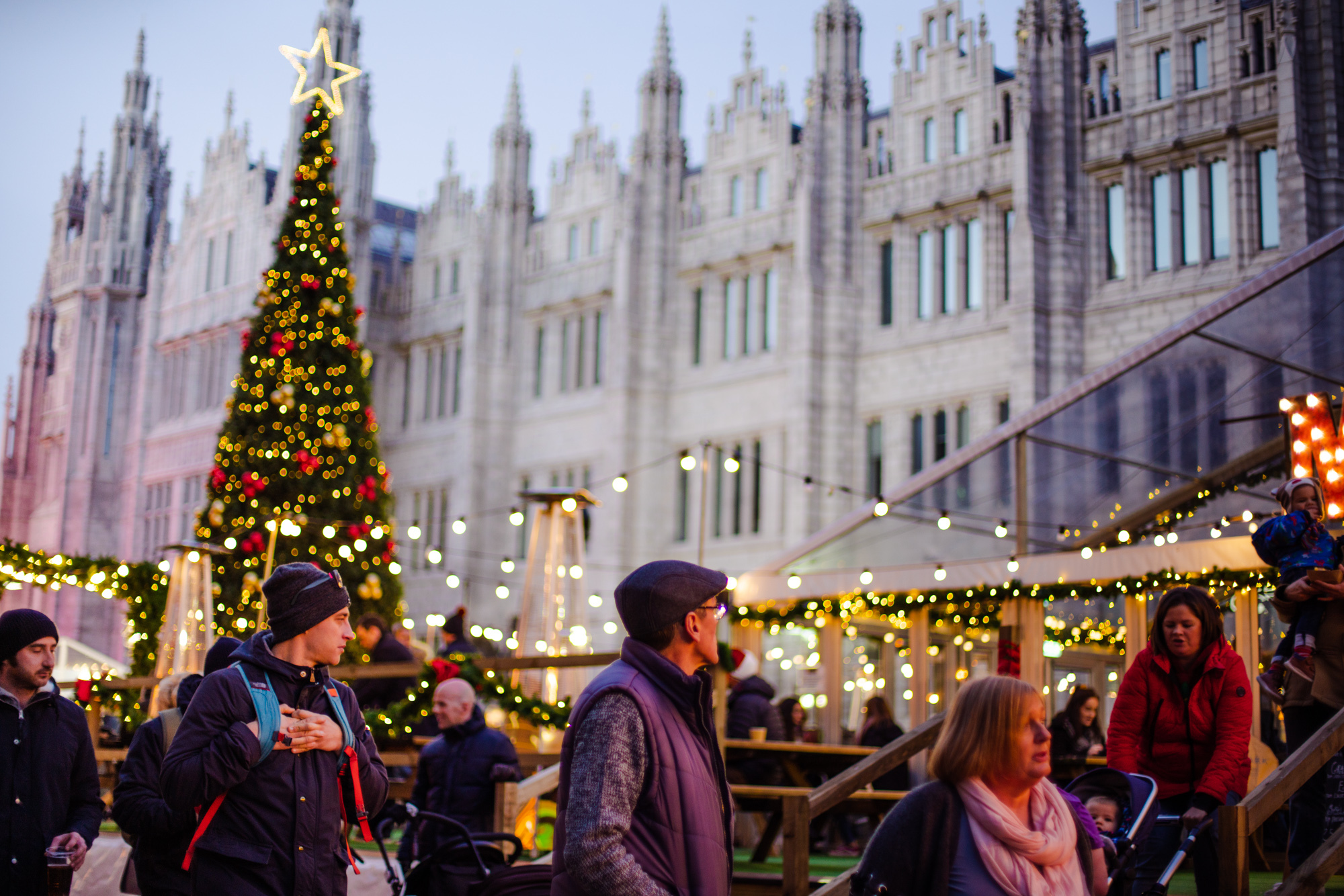 Aberdeen Christmas Village to be supported by CityFibre and Vodafone Gigafast