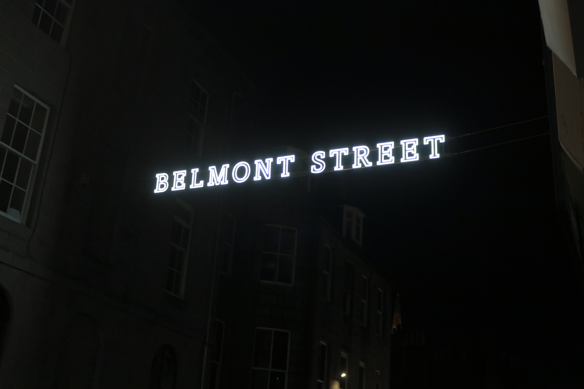 Installation begins on project to light up city centre streets