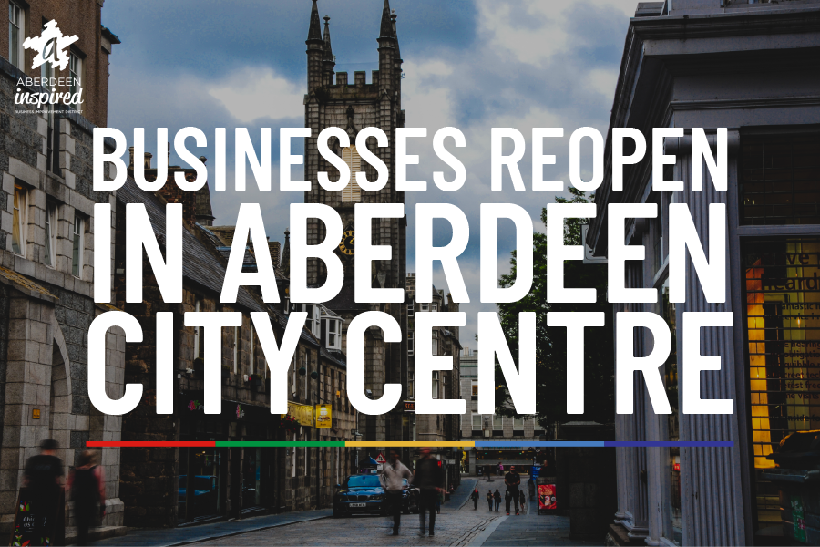 Businesses Reopen in Aberdeen City Centre