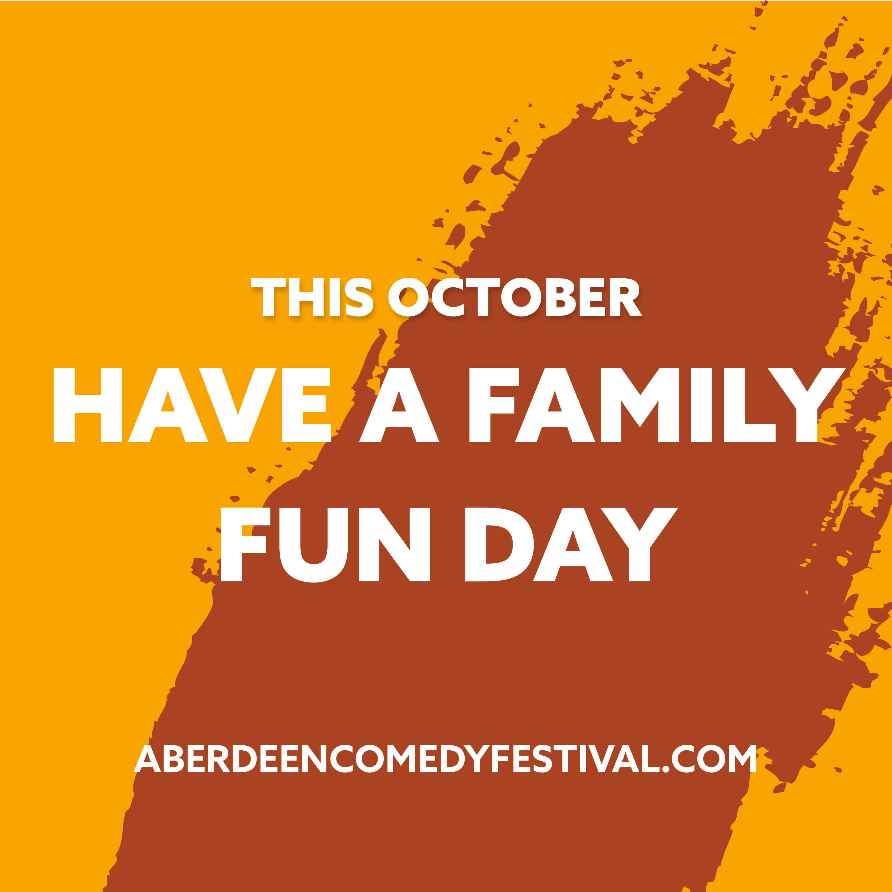 Find your funny with the whole family this October!