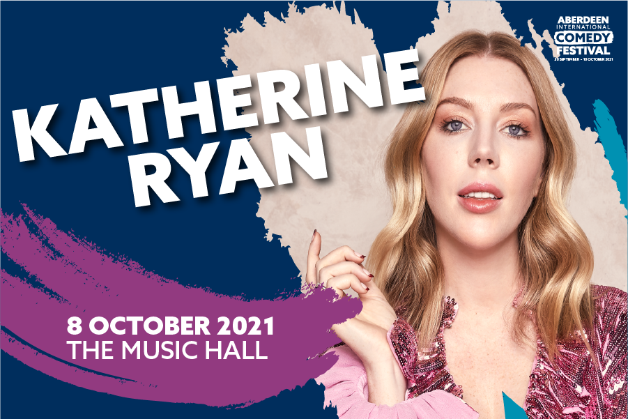 Katherine Ryan to headline Aberdeen International Comedy Festival 2021
