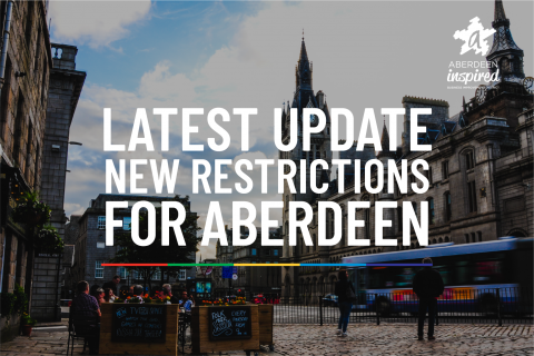 Latest announcement: new restrictions for Aberdeen