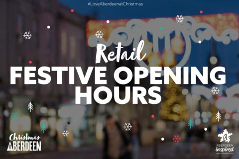 Aberdeen City Centre Retail Festive Opening Hours