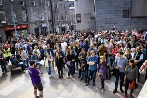 Off­shore Europe Spe­cial — Nuart Aberdeen Walk­ing Tours