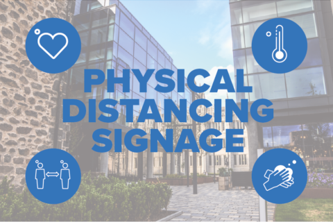 Physical Distancing Signage