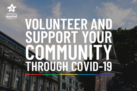 Volunteer and support your community through COVID-19