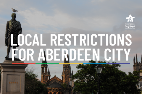 Local Restrictions for Aberdeen City