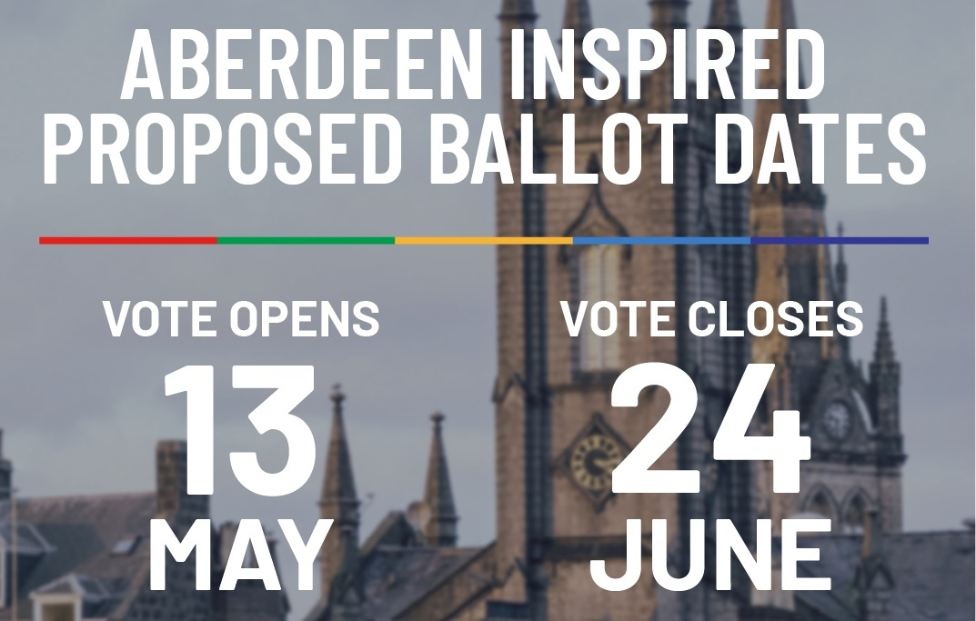 Aberdeen Inspired Proposed Ballot Dates