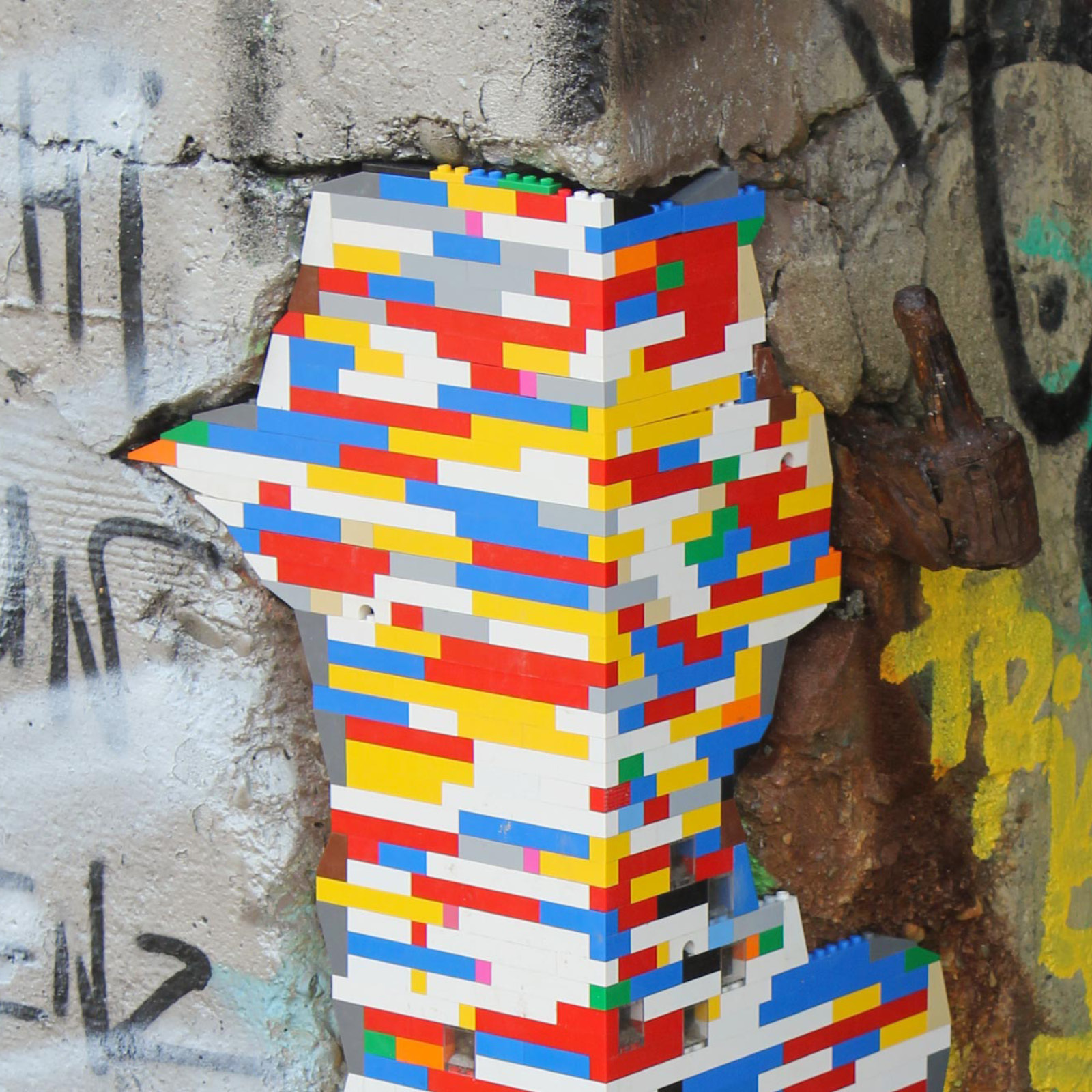 German artist Jan Vormann brings global Dispatchwork project to Nuart Aberdeen