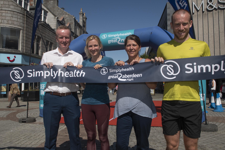 Aberdeen Inspired backs Friends of Anchor for Great Aberdeen Run