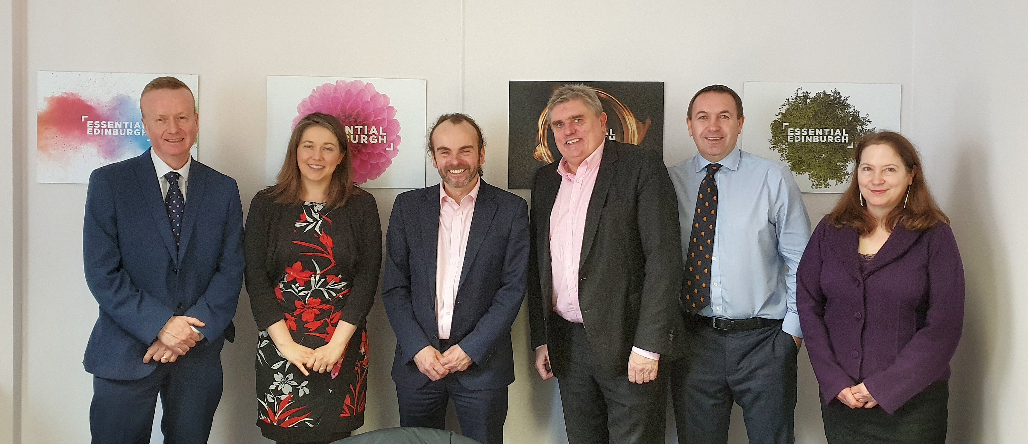 Newly formed Scottish City BIDs Group meets Cabinet Secretary