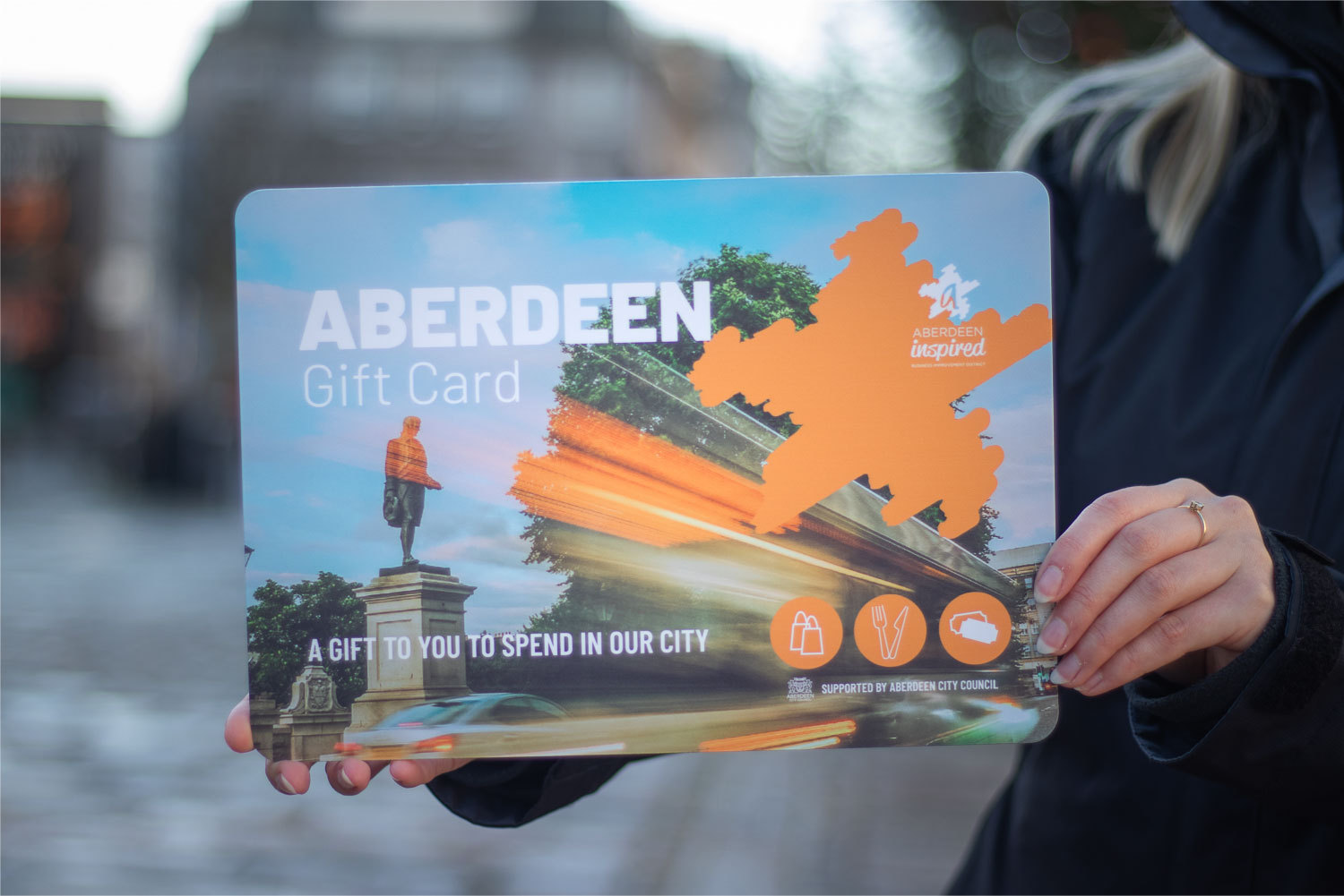 Aberdeen Gift Card drives city economic recovery