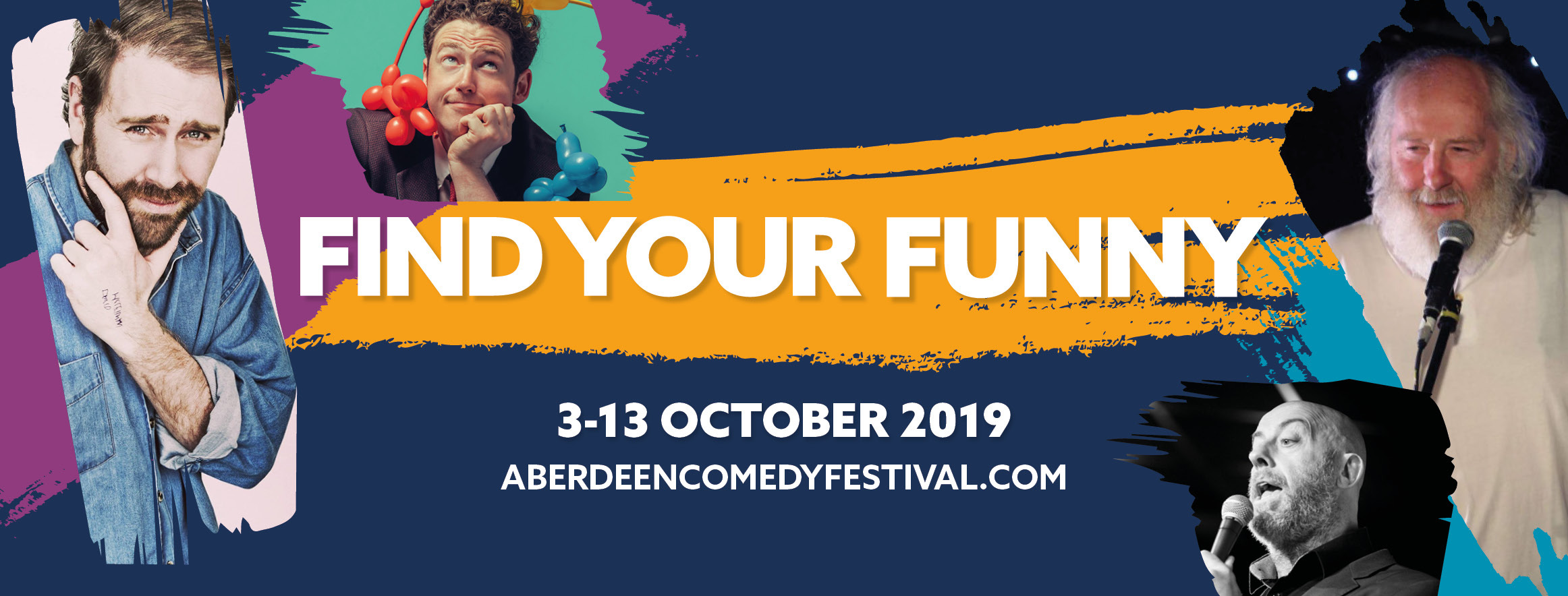 Surprise additions to Aberdeen International Comedy Festival line-up
