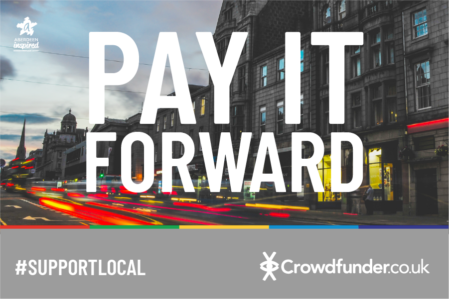 Crowdfund support for your business: Pay It Forward a free, quick and easy tool